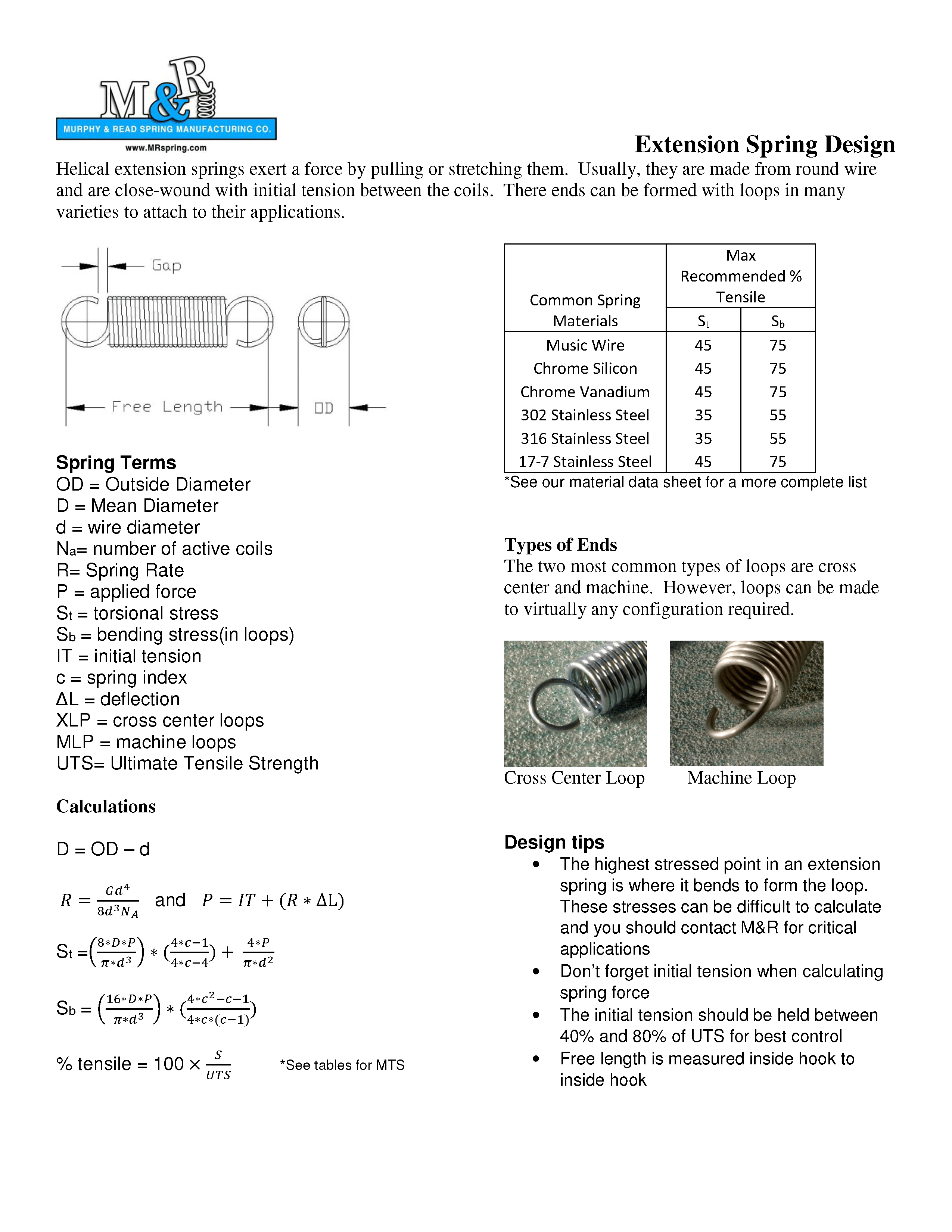 Extension Spring Design Info_Page_1
